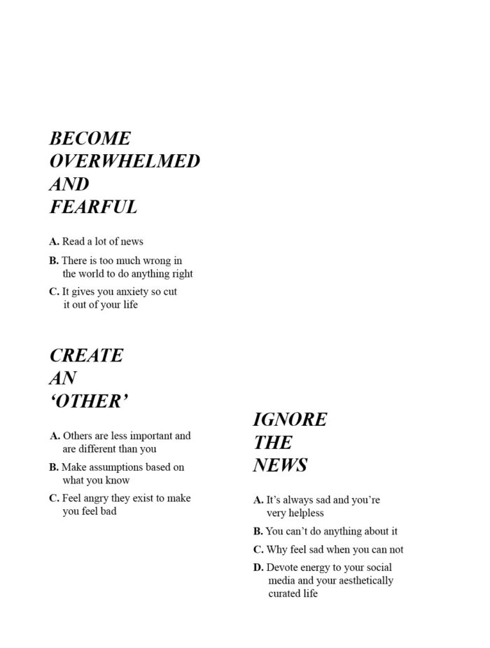 How to be human5